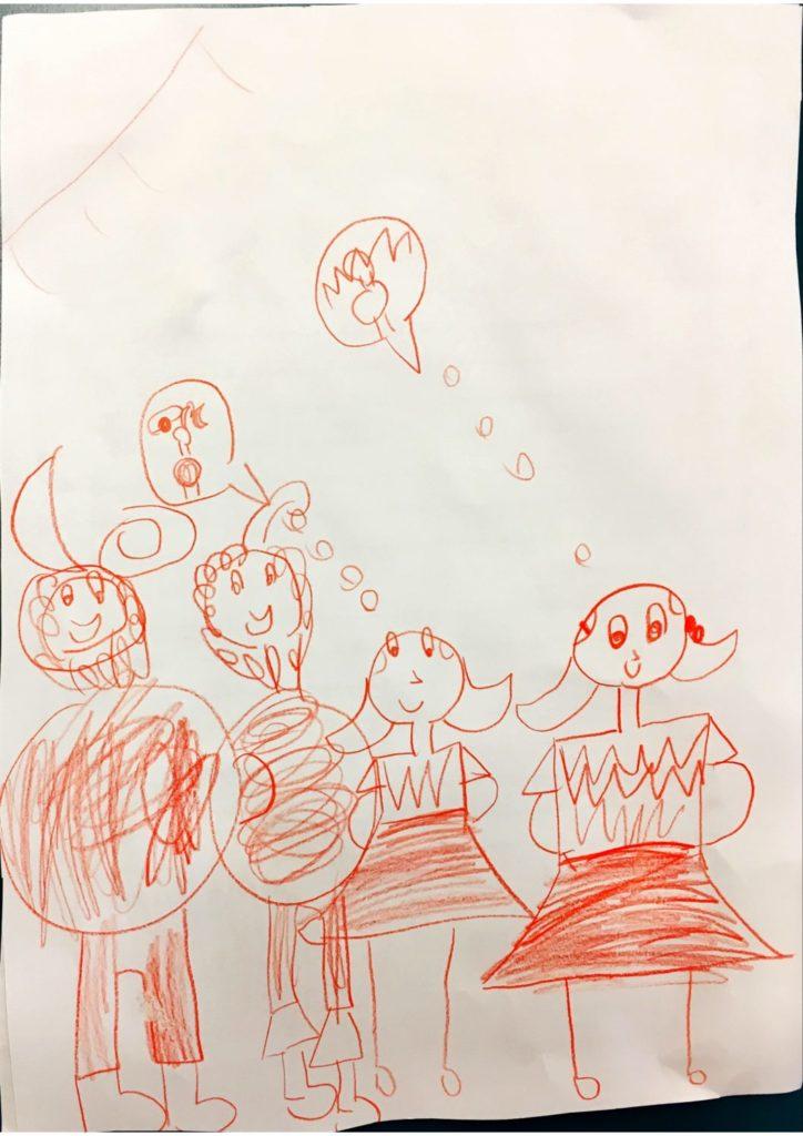 Kleine Weihnachtsbilder.Weihnachtsbilder Geschichten 1b Lernzentrum